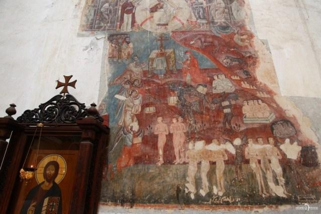 Фрагменты сохранившихся фресок