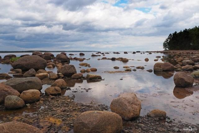 Пейзаж. Финский залив. Мыс Кюрённиеми