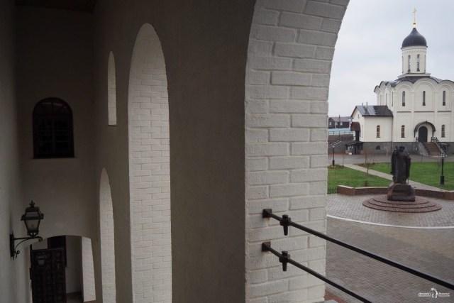 Владимирский собор. Вид с лестницы обзорной башни