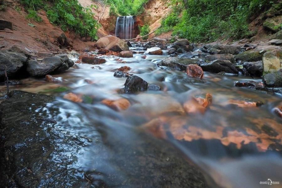 Горчаковщинский водопад