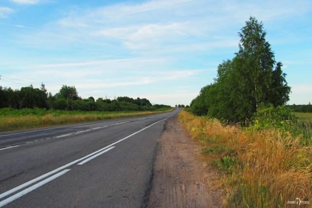 Автодорога Зуево - Новая Ладога