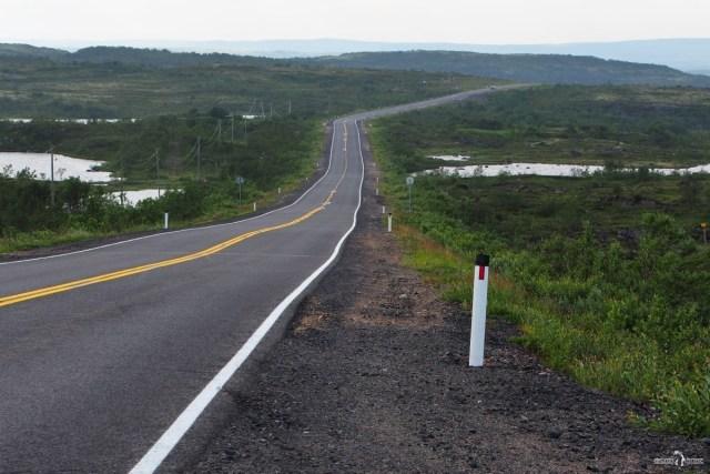Р 21 (Е 105) в сторону норвежской границы. Путь на Кольскую сверхглубокую