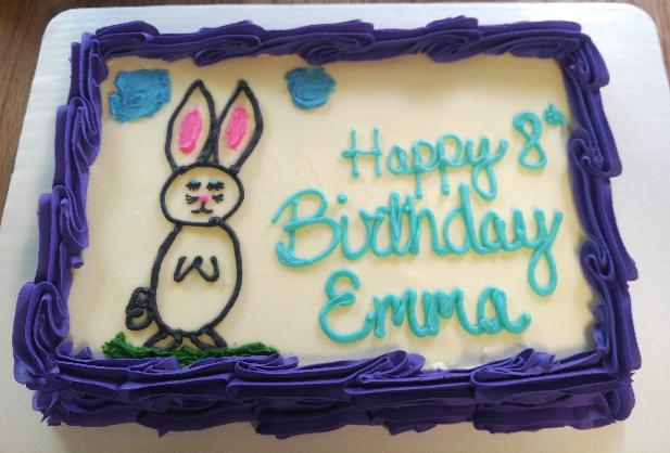 1/4 sheet- bunny