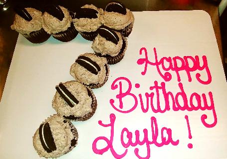 #7 cupcakes