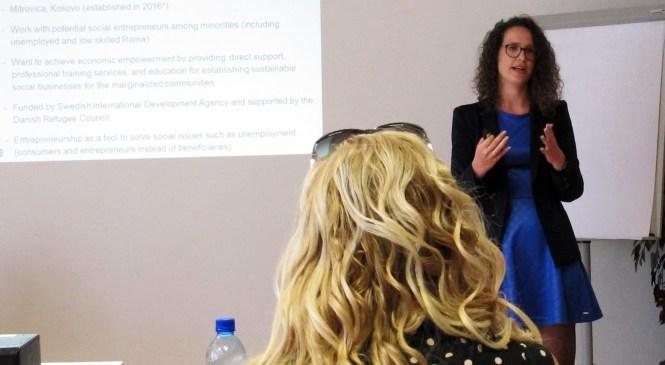 """Zúčastnili sme sa workshopu """"PRÍLEŽITOSTI INKLÚZIE RÓMOV V RÁMCI ZELENEJ EKONOMIKY NA SLOVENSKU"""""""