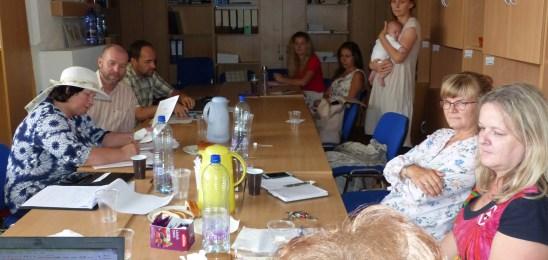 Zasadla Pracovná skupina pre sociálne poľnohospodárstvo na Slovensku