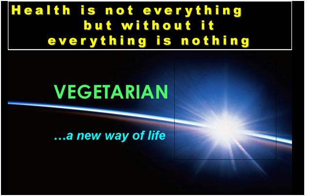 Vegetarian a New Way of Life
