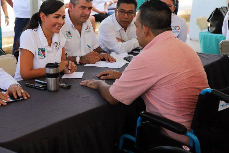 Gobierno de Puerto Morelos desarrolla agenda prioritaria a favor de la inclusión