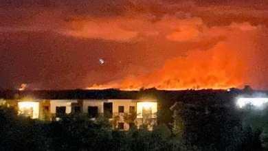 Photo of En los próximos días será controlado casi en su totalidad el incendio sobre la sabana del ejido de Chiquilá