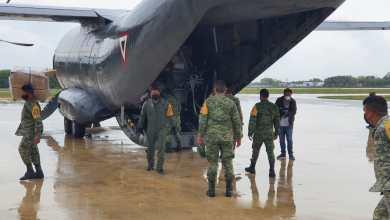 Photo of Traslada Fuerza Aérea, equipo médico para hospitales Insabi en Quintana Roo