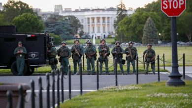 Photo of Trump se refugió el viernes en el búnker de la Casa Blanca por las protestas