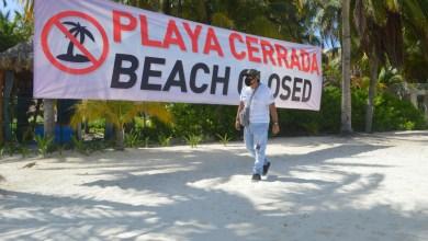 Photo of Para cuidarla salud de todos, las playas continuarán cerradas en Isla Mujeres
