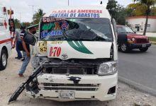 Photo of Fuerte accidente en el Boulevard Colosio de Cancún deja varias personas lesionadas