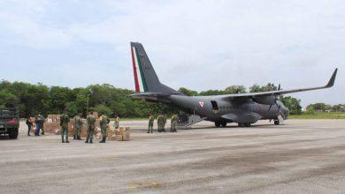 Photo of Llegan más insumos médicos en avión militar a Chetumal