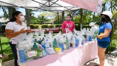 Photo of Lleva DIF municipal 140 kits de limpieza para el hogar, entregados en Isla Mujeres
