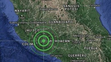 Photo of Se registra sismo de magnitud 4.6 al suroeste de Manzanillo, Colima