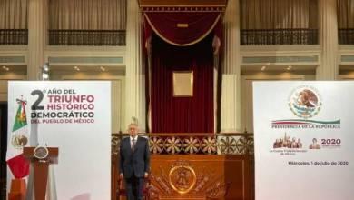 Photo of AMLO ofrece paz y seguridad a las clases altas y defiende sus políticas sociales