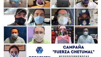 Photo of Coparmex realiza campaña para fomentar uso de cubrebocas