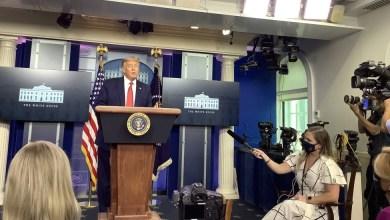 Photo of Video | Servicio Secreto interrumpe en conferencia a Donald Trump por tiroteo afuera de la Casa Blanca
