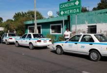 Photo of Lío entre taxistas de Tulum y Valladolid: retienen unidades