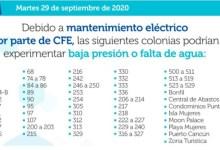 Photo of Trabajos de mantenimiento afectará el servicio de agua potable en Cancún el 29 de septiembre
