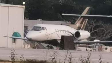 Photo of Abandonan jet en Aeropuerto de Chetumal