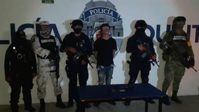 Photo of Aseguran a sujeto armado en Playa del Carmen