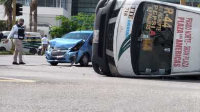 Photo of Aparatoso accidente en Cancún deja una persona sin vida