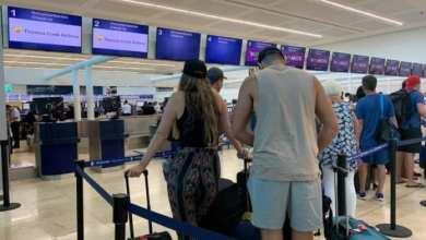 Photo of Registra Aeropuerto de Cancún 255 operaciones este viernes