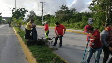 Photo of Continúan brigadas de limpieza en Rancho Viejo