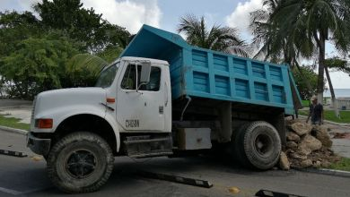 Photo of Hundimientos y socavones ponen en peligro a camiones de Chetumal