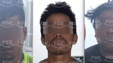 "Photo of Captura FGE a Inri ""C"", Carlos ""C"" "" y Jaime ""S"" implicados en un homicidio en Cancún"