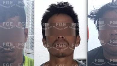 """Photo of Captura FGE a Inri """"C"""", Carlos """"C"""" """" y Jaime """"S"""" implicados en un homicidio en Cancún"""