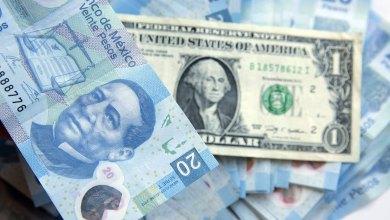 Photo of Peso opera con ligero avance; dólar, en 21.10 unidades