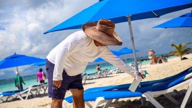 Photo of Mantienen playas de Isla Mujeres protocolos contra el coronavirus