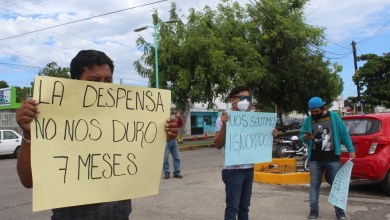 Photo of Empleados de casinos se manifiestan en las instalaciones de SESA en Chetumal