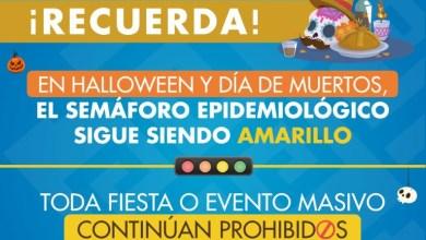 Photo of Prohibido promover fiestas de Día de Muertos y Halloween, advierte Sefiplan