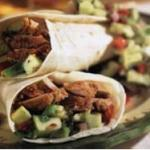Pork Fajitas with Avocado-Apple Salsa