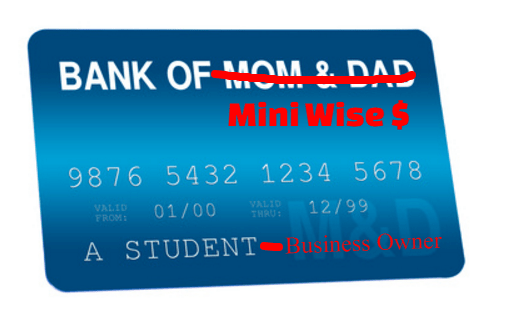 Mini pays for college herself