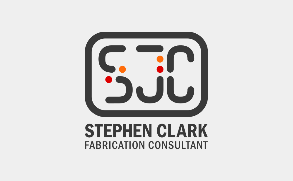 Stephen Clark Fabrication Consultant logo designed by Dryad Media
