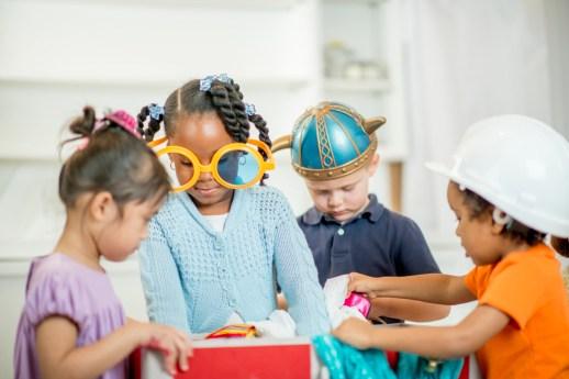 Explorar, niños, desarrollo de funciones ejecutivas, jugar