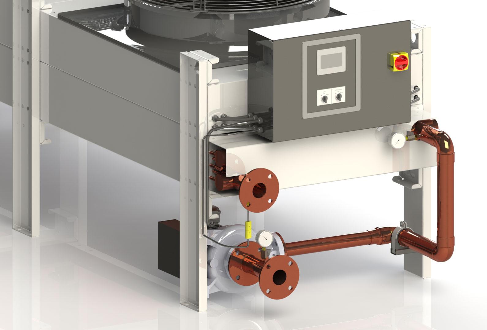 AquaVent FCI-AVI Series Free Cooler