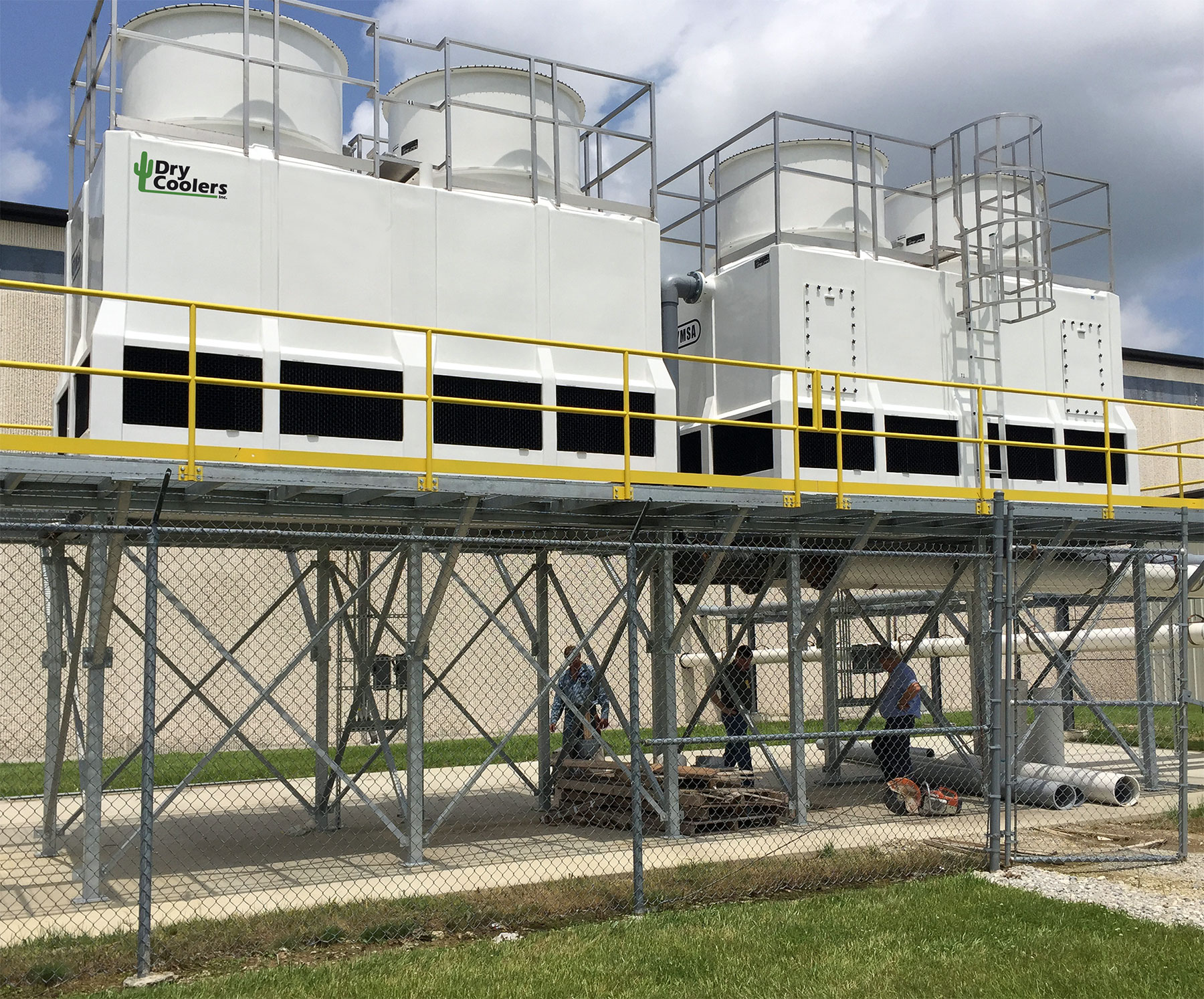 FGCT Series Fiberglass Evaporative Cooling Tower