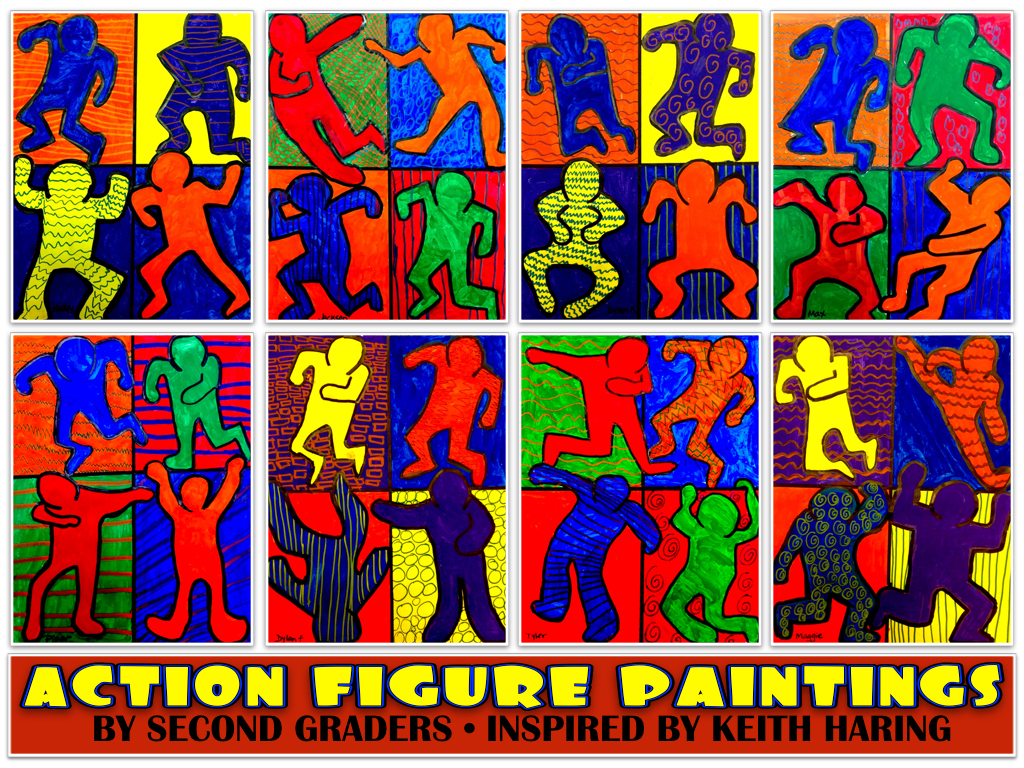 Keith Haring Paintings