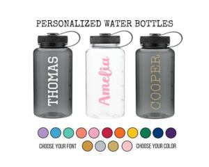 CUSTOM REUSABLE WATER BOTTLES