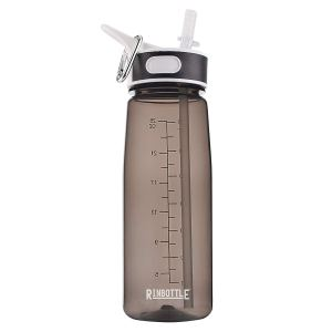 REUSABLE WATER BOTTLE WITH STRAW