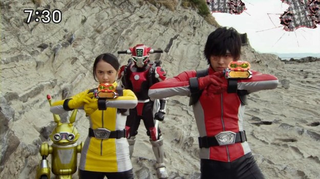 Go-Busters 50