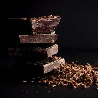 Schokolade mit unterschiedlichen Kakaomassen