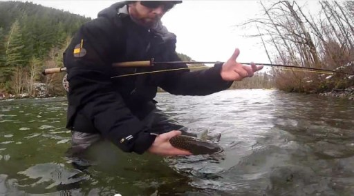 DRYFT fly fishing for bull trout