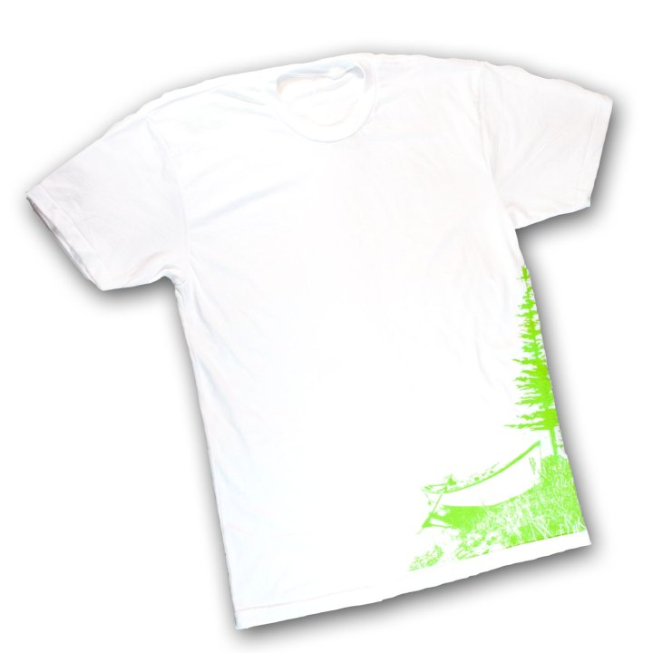 DRYFT Boat Tee Remix white - front